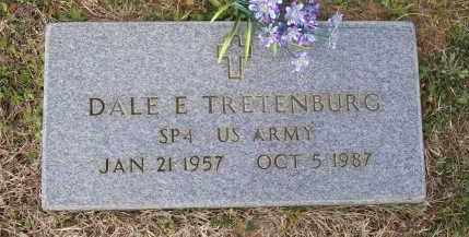 TRETENBURG (VETERAN), DALE EDWARD - Lawrence County, Arkansas | DALE EDWARD TRETENBURG (VETERAN) - Arkansas Gravestone Photos