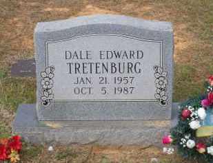 TRETENBURG, DALE EDWARD - Lawrence County, Arkansas | DALE EDWARD TRETENBURG - Arkansas Gravestone Photos