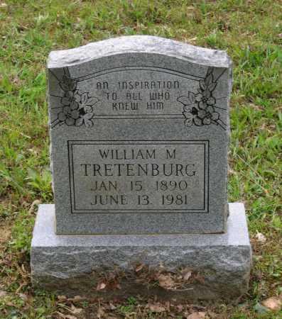 TRETENBURG (VETERAN WWI), WILLIAM M. - Lawrence County, Arkansas   WILLIAM M. TRETENBURG (VETERAN WWI) - Arkansas Gravestone Photos