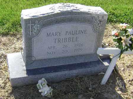 TRIBBLE, MARY PAULINE - Lawrence County, Arkansas | MARY PAULINE TRIBBLE - Arkansas Gravestone Photos