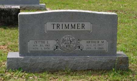 HACKER TRIMMER, ZETTIE LUCILLE - Lawrence County, Arkansas | ZETTIE LUCILLE HACKER TRIMMER - Arkansas Gravestone Photos