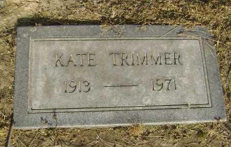 TRIMMER, KATE - Lawrence County, Arkansas   KATE TRIMMER - Arkansas Gravestone Photos