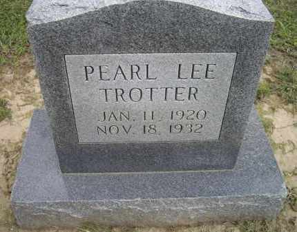 TROTTER, PEARL LEE - Lawrence County, Arkansas | PEARL LEE TROTTER - Arkansas Gravestone Photos