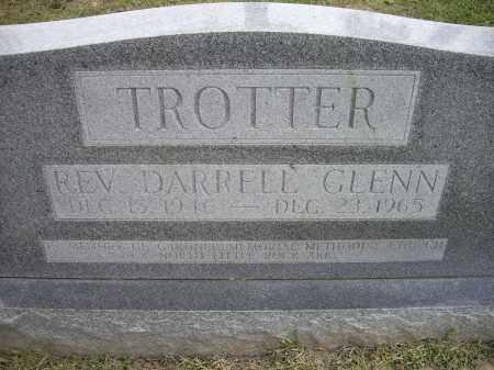 TROTTER, REV., DARRELL GLENN - Lawrence County, Arkansas   DARRELL GLENN TROTTER, REV. - Arkansas Gravestone Photos