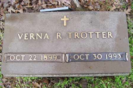 TROTTER, VERNA R. - Lawrence County, Arkansas   VERNA R. TROTTER - Arkansas Gravestone Photos