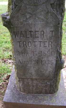 TROTTER, WALTER T. - Lawrence County, Arkansas   WALTER T. TROTTER - Arkansas Gravestone Photos