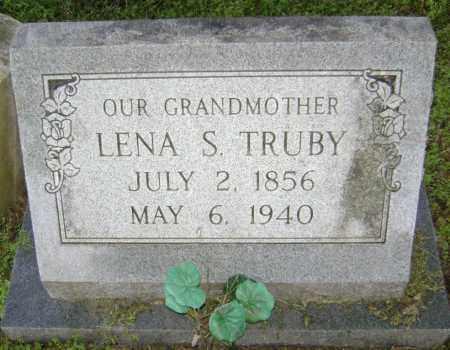 TRUBY, LENA S. - Lawrence County, Arkansas | LENA S. TRUBY - Arkansas Gravestone Photos