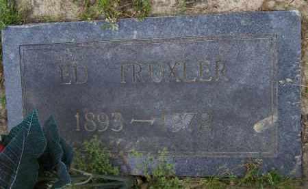 TRUXLER, ED - Lawrence County, Arkansas   ED TRUXLER - Arkansas Gravestone Photos