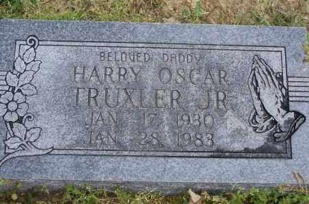 TRUXLER, JR., HARRY OSCAR - Lawrence County, Arkansas | HARRY OSCAR TRUXLER, JR. - Arkansas Gravestone Photos