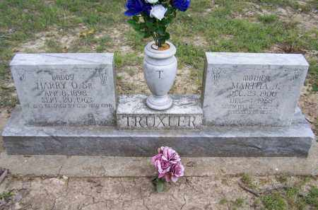 TRUXLER, MARTHA J. - Lawrence County, Arkansas | MARTHA J. TRUXLER - Arkansas Gravestone Photos