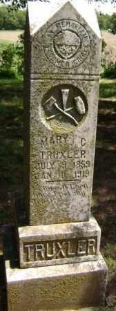 TRUXLER, MARY C. - Lawrence County, Arkansas | MARY C. TRUXLER - Arkansas Gravestone Photos