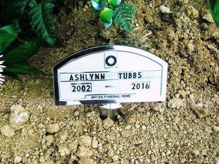 TUBBS, ASHLYNN CHEYENNE - Lawrence County, Arkansas   ASHLYNN CHEYENNE TUBBS - Arkansas Gravestone Photos