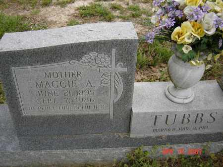JOHNSON TUBBS, MAGGIE ALICE - Lawrence County, Arkansas | MAGGIE ALICE JOHNSON TUBBS - Arkansas Gravestone Photos