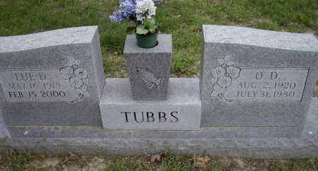 TUBBS, O. D. - Lawrence County, Arkansas | O. D. TUBBS - Arkansas Gravestone Photos