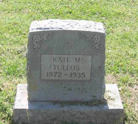 TULLOS, KATE M. - Lawrence County, Arkansas | KATE M. TULLOS - Arkansas Gravestone Photos