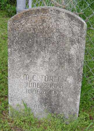 """TURLEY, MARION CURTIS """"M. C."""" - Lawrence County, Arkansas 