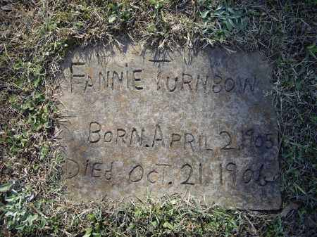 TURNBOW, FANNIE - Lawrence County, Arkansas | FANNIE TURNBOW - Arkansas Gravestone Photos