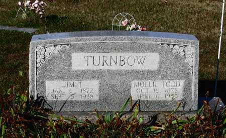 "TURNBOW, MARY ELIZABETH ""MOLLIE"" - Lawrence County, Arkansas | MARY ELIZABETH ""MOLLIE"" TURNBOW - Arkansas Gravestone Photos"