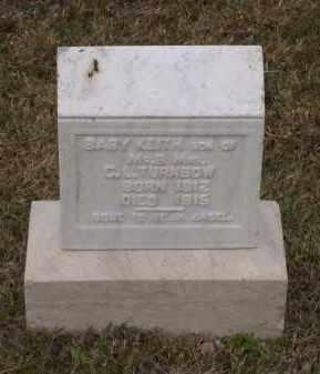 TURNBOW, KEITH - Lawrence County, Arkansas | KEITH TURNBOW - Arkansas Gravestone Photos
