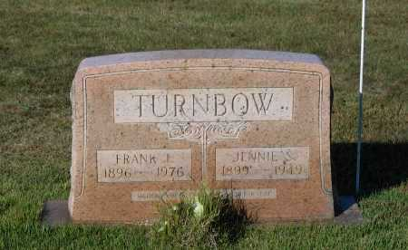 """TURNBOW, PETER FRANKLIN """"FRANK"""" - Lawrence County, Arkansas 