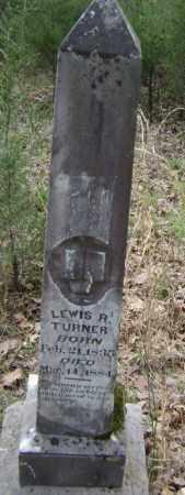 TURNER, LEWIS R. - Lawrence County, Arkansas   LEWIS R. TURNER - Arkansas Gravestone Photos