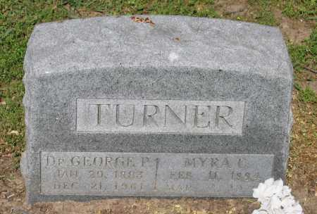 TURNER, MD, GEORGE P. - Lawrence County, Arkansas | GEORGE P. TURNER, MD - Arkansas Gravestone Photos