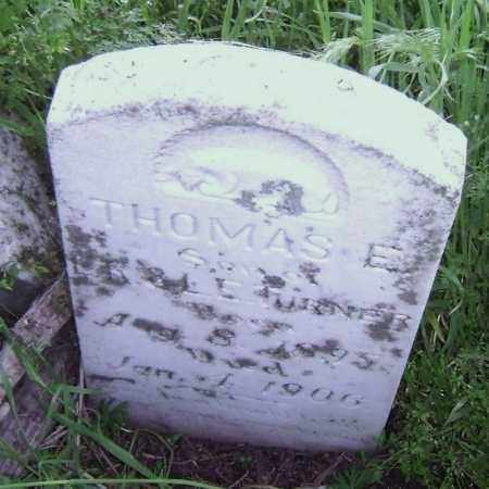 TURNER, THOMAS E. - Lawrence County, Arkansas | THOMAS E. TURNER - Arkansas Gravestone Photos