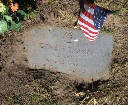 TURNER (VETERAN WWII), GENE H. - Lawrence County, Arkansas   GENE H. TURNER (VETERAN WWII) - Arkansas Gravestone Photos