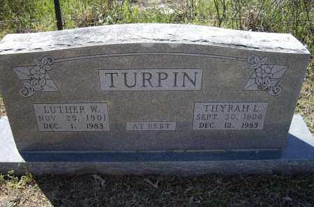 TURPIN, LUTHER W. - Lawrence County, Arkansas | LUTHER W. TURPIN - Arkansas Gravestone Photos
