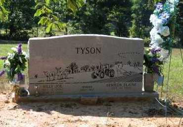 TYSON, BILLY JOE - Lawrence County, Arkansas   BILLY JOE TYSON - Arkansas Gravestone Photos