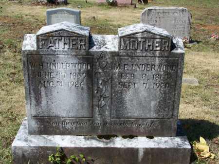 UNDERWOOD, MARY E. - Lawrence County, Arkansas | MARY E. UNDERWOOD - Arkansas Gravestone Photos