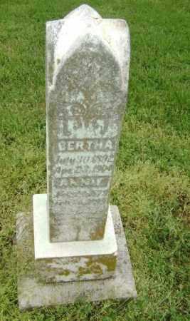 BENNETT, BERTHA - Lawrence County, Arkansas   BERTHA BENNETT - Arkansas Gravestone Photos
