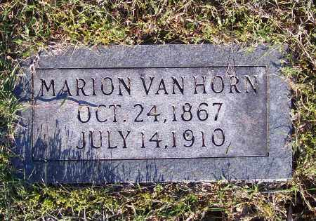VAN HORN, FRANCIS MARION - Lawrence County, Arkansas | FRANCIS MARION VAN HORN - Arkansas Gravestone Photos