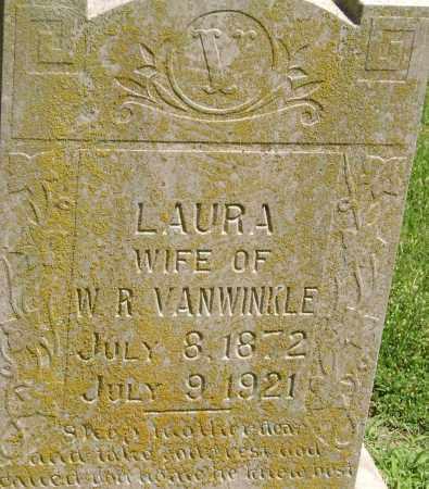 VANWINKLE, LAURA - Lawrence County, Arkansas | LAURA VANWINKLE - Arkansas Gravestone Photos