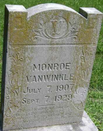 VANWINKLE, MONROE - Lawrence County, Arkansas | MONROE VANWINKLE - Arkansas Gravestone Photos