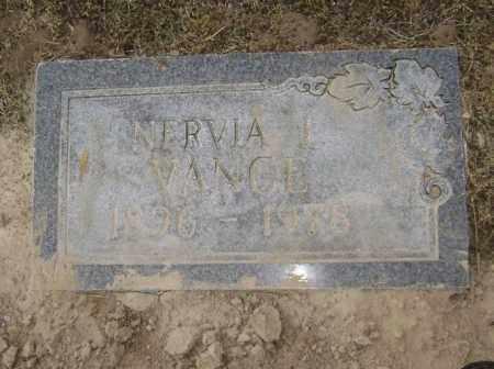 VANCE, NERVIA ELIZABETH I. - Lawrence County, Arkansas   NERVIA ELIZABETH I. VANCE - Arkansas Gravestone Photos