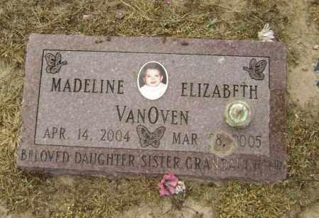 VANOVEN, MADELINE ELIZABETH - Lawrence County, Arkansas | MADELINE ELIZABETH VANOVEN - Arkansas Gravestone Photos