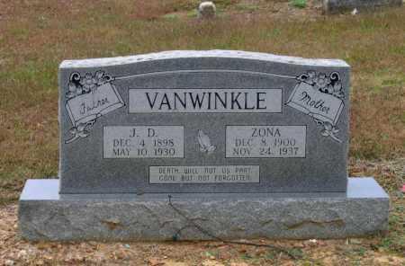 HORN VANWINKLE, ZONA M. - Lawrence County, Arkansas | ZONA M. HORN VANWINKLE - Arkansas Gravestone Photos