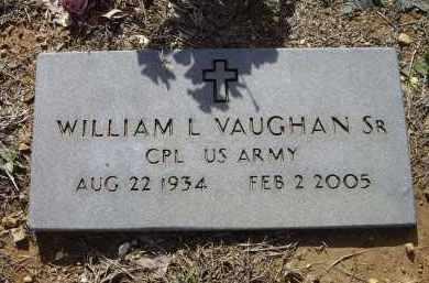 "VAUGHAN, SR. (VETERAN), WILLIAM L.""DUB"" - Lawrence County, Arkansas | WILLIAM L.""DUB"" VAUGHAN, SR. (VETERAN) - Arkansas Gravestone Photos"