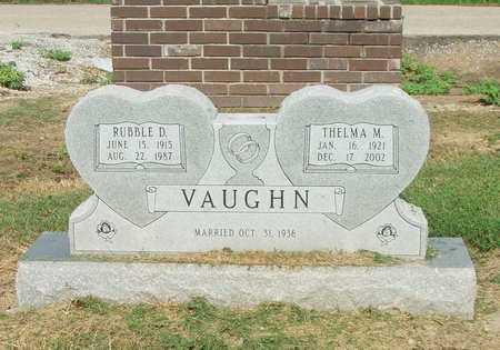 VAUGHN, RUBBLE D. - Lawrence County, Arkansas | RUBBLE D. VAUGHN - Arkansas Gravestone Photos