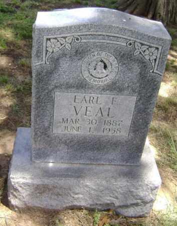 VEAL, EARL FRANKLIN - Lawrence County, Arkansas   EARL FRANKLIN VEAL - Arkansas Gravestone Photos