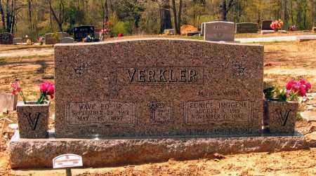 BURRUS VERKLER, EUNICE IMOGENE - Lawrence County, Arkansas | EUNICE IMOGENE BURRUS VERKLER - Arkansas Gravestone Photos