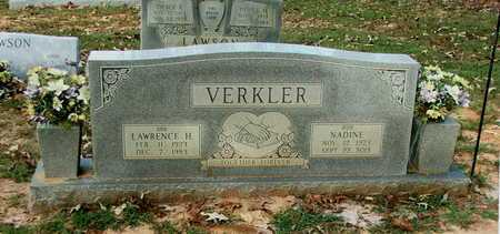 VERKLER, LAWRENCE HAROLD - Lawrence County, Arkansas | LAWRENCE HAROLD VERKLER - Arkansas Gravestone Photos