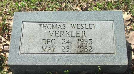 VERKLER, THOMAS WESLEY - Lawrence County, Arkansas | THOMAS WESLEY VERKLER - Arkansas Gravestone Photos