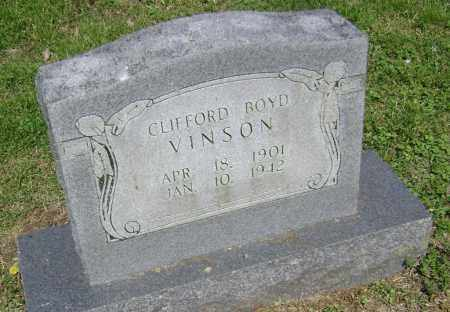 VINSON, CLIFFORD BOYD - Lawrence County, Arkansas | CLIFFORD BOYD VINSON - Arkansas Gravestone Photos
