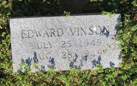 VINSON, EDWARD - Lawrence County, Arkansas | EDWARD VINSON - Arkansas Gravestone Photos