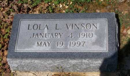 COLLINS VINSON, LOLA L. - Lawrence County, Arkansas | LOLA L. COLLINS VINSON - Arkansas Gravestone Photos