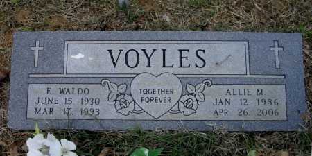 RUSSELL VOYLES, ALLIE MARIE - Lawrence County, Arkansas | ALLIE MARIE RUSSELL VOYLES - Arkansas Gravestone Photos