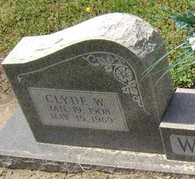 WADDELL, CLYDE W. - Lawrence County, Arkansas | CLYDE W. WADDELL - Arkansas Gravestone Photos