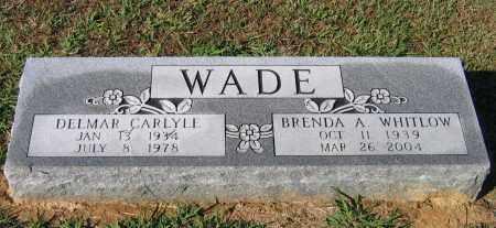 WADE, DELMAR CARLYLE - Lawrence County, Arkansas | DELMAR CARLYLE WADE - Arkansas Gravestone Photos